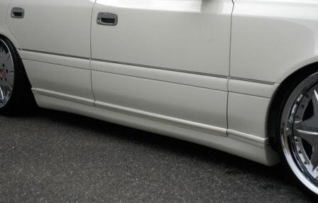 VLENE ブレーン EXISTENCE エグジスタンス サイドステップ 未塗装 クラウン JZS15