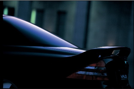 WALD ヴァルド MONSTER MACHINE モンスターマシーン リアウィング 未塗装 メルセデス・ベンツ W215