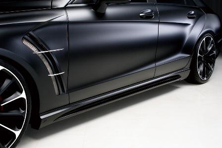 WALD/ヴァルド*Sports Line Black Bison Edition/メルセデス・ベンツ/C218/CLS class/*サイドステップ/FRP製