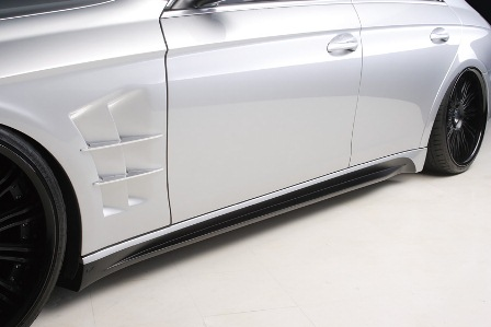 WALD ヴァルド Sports Line Black Bison Edition メルセデス・ベンツ W219 CLS class サイドステップ