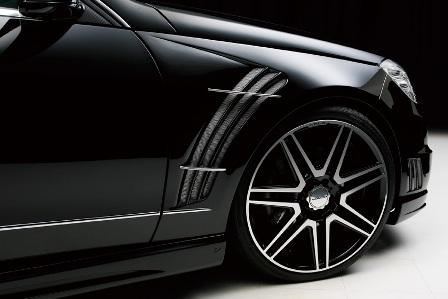WALD ヴァルド Sports Line Black Bison Edition メルセデス・ベンツ W212 E class スポーツフェンダーダクト FRP製