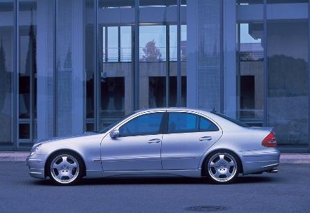 WALD ヴァルド Executive Line メルセデス・ベンツ W211 E class セダン サイドステップ FRP製