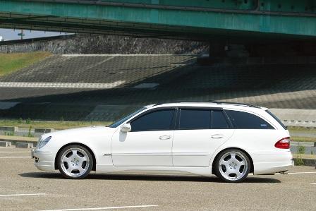 WALD ヴァルド Executive Line メルセデス・ベンツ W211 E class ワゴン サイドステップ FRP製