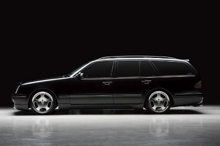 WALD ヴァルド Executive Line メルセデス・ベンツ W210 E class ワゴン サイドステップ FRP製