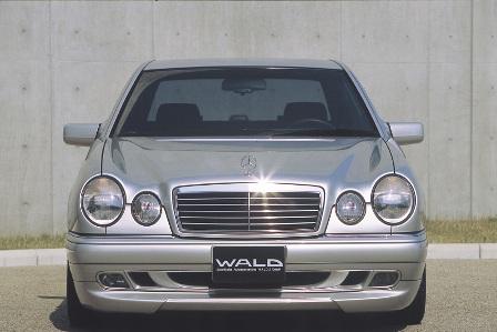 WALD ヴァルド Executive Line メルセデス・ベンツ W210 E class セダン フロントスポイラー FRP製