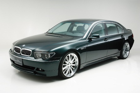 WALD ヴァルド Sports Line BMW E65 66 7シリーズ 3点キット FRP製