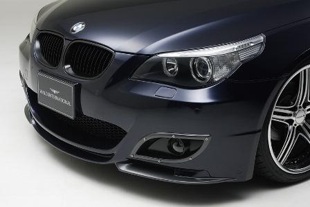 WALD ヴァルド Sports Line BMW E60 5シリーズ セダン フロントバンパースポイラー バンパータイプ