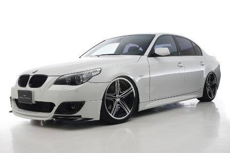 WALD ヴァルド Sports Line BMW E60 5シリーズ Mスポーツ セダン 2点キット ハーフタイプ