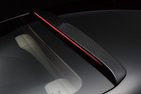 WALD ヴァルド Sports Line Black Bison Edition ベントレー 前期 コンチネンタル GT ルーフスポイラー カーボン製