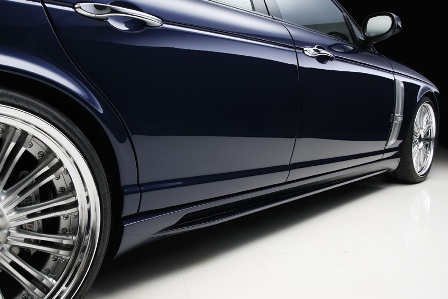 WALD ヴァルド Sports Line Black Bison Edition ジャガー XJ X350 358 サイドステップ