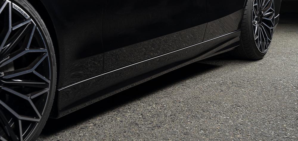 WALD/ヴァルド*Executive Line/メルセデス・ベンツ/W205/C class セダン/*サイドステップ/AMGライン用/ABS製