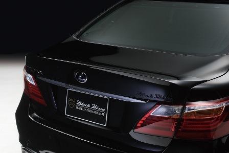 WALD ヴァルド Sports Line Black Bison Edition レクサス USF40/41,UVF45/46 後期 LS460/L600h/hL トランクスポイラー ABS製