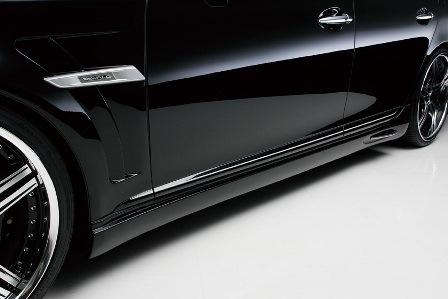 WALD ヴァルド Executive Line エクゼクティブライン サイドステップ ショート 未塗装 レクサス UVF40 41 後期