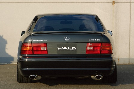 WALD ヴァルド Executive Line exchange セルシオ UCF20 21 前期 リアスカート FRP製