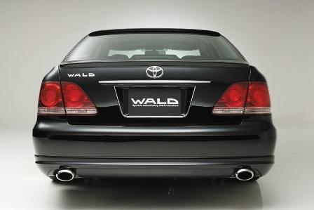 WALD ヴァルド Executive Line クラウン GRS180 前期 リアスカート FRP製