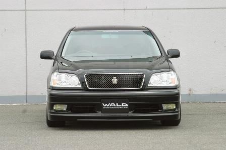 WALD ヴァルド Executive Line クラウン JZS170 フロントスポイラー FRP製