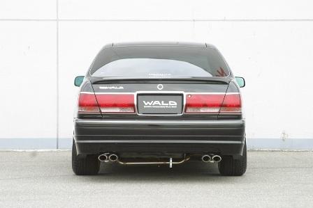 WALD ヴァルド Executive Line クラウン JZS170 リアスカート FRP製