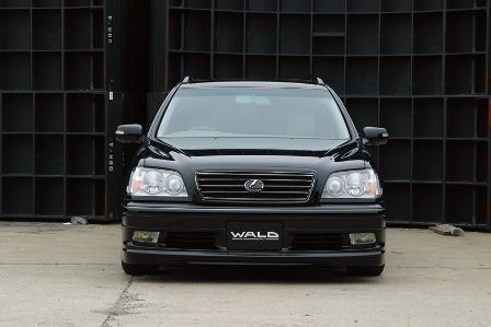 WALD ヴァルド Executive Line クラウンエステート JZS170 フロントスポイラー FRP製