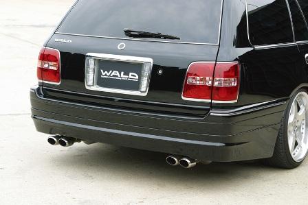 WALD ヴァルド Executive Line クラウンエステート JZS170 リアスカート FRP製