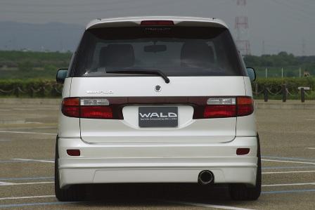 WALD ヴァルド Executive Line(EXCHANGE) エスティマ MCR/ACR30W・40W 前期 リアスカート FRP製