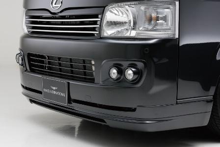 WALD ヴァルド Executive Line ハイエース KDH TRH200 フロントスポイラー FRP製