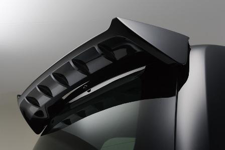 WALD ヴァルド Sports Line Black Bison Edition スポーツラインブラックバイソンエディション ルーフスポイラー 未塗装 ランドクルーザー UZJ200 URJ202