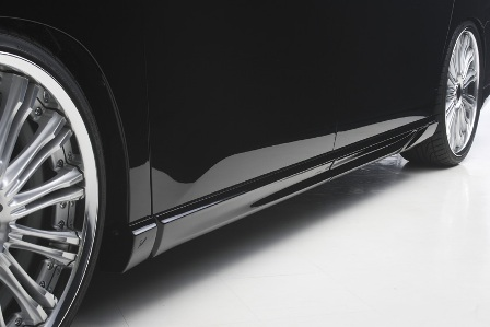WALD ヴァルド Executive Line エクゼクティブライン サイドステップ 未塗装 ヴェルファイア ANH20 25,GGH20 25