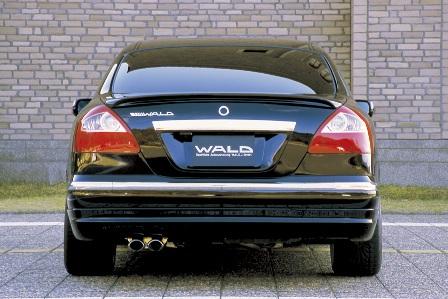 WALD ヴァルド Executive Line シーマ F50 サイドステップ FRP製