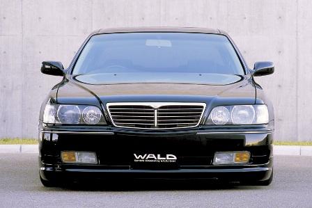 WALD ヴァルド Executive Line シーマ Y33 フロントスポイラー FRP製