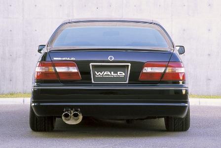 WALD ヴァルド Executive Line シーマ Y33 リアスカート FRP製