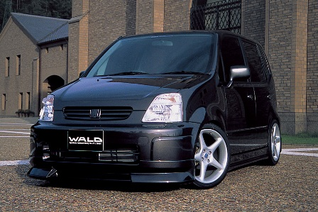 WALD ヴァルド Sports Line EXCHANGE キャパ GA4 6 前期 サイドステップ FRP製