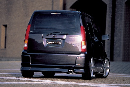 WALD ヴァルド Sports Line EXCHANGE キャパ GA4 6 前期 リアスカート FRP製
