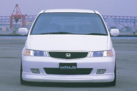 WALD ヴァルド Executive Line(EXCHANGE) ラグレイト RL 1st EDITION フロントスポイラー FRP製