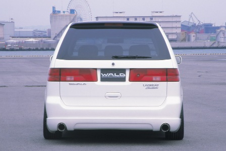 WALD ヴァルド Executive Line EXCHANGE ラグレイト RL 1st EDITION リアスカート FRP製