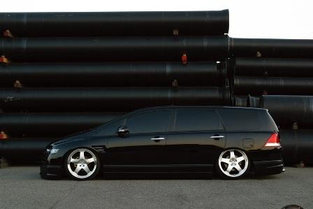 WALD ヴァルド Executive Line EXCHANGE オデッセイ RB1 2 サイドステップ FRP製