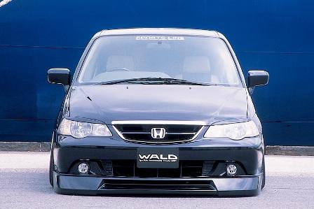 WALD ヴァルド Sports Line EXCHANGE オデッセイ RA6 7 8 9 アブソルート フロントスポイラー FRP製