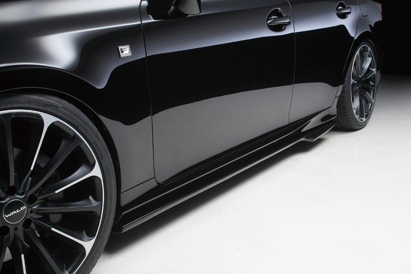 WALD ヴァルド レクサス GRL10 GS F SPORT サイドステップ 塗装済 Executive Line エグゼクティブライン