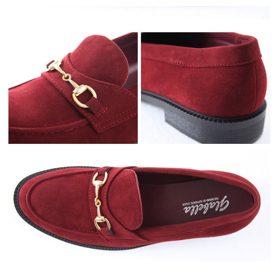 4678d88d1ba ◇Bit loafer ◇ loafer slip-ons leather shoes men shoes low-frequency cut  casual shoes shoes men fashion student bit suede cloth loafer present gift  man ...