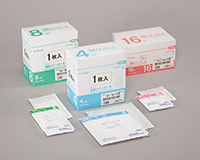 オオサキメディカル 滅菌メディガーゼRS RS4-1 30cm×30cm 4ツ折 1枚入(100袋)22804