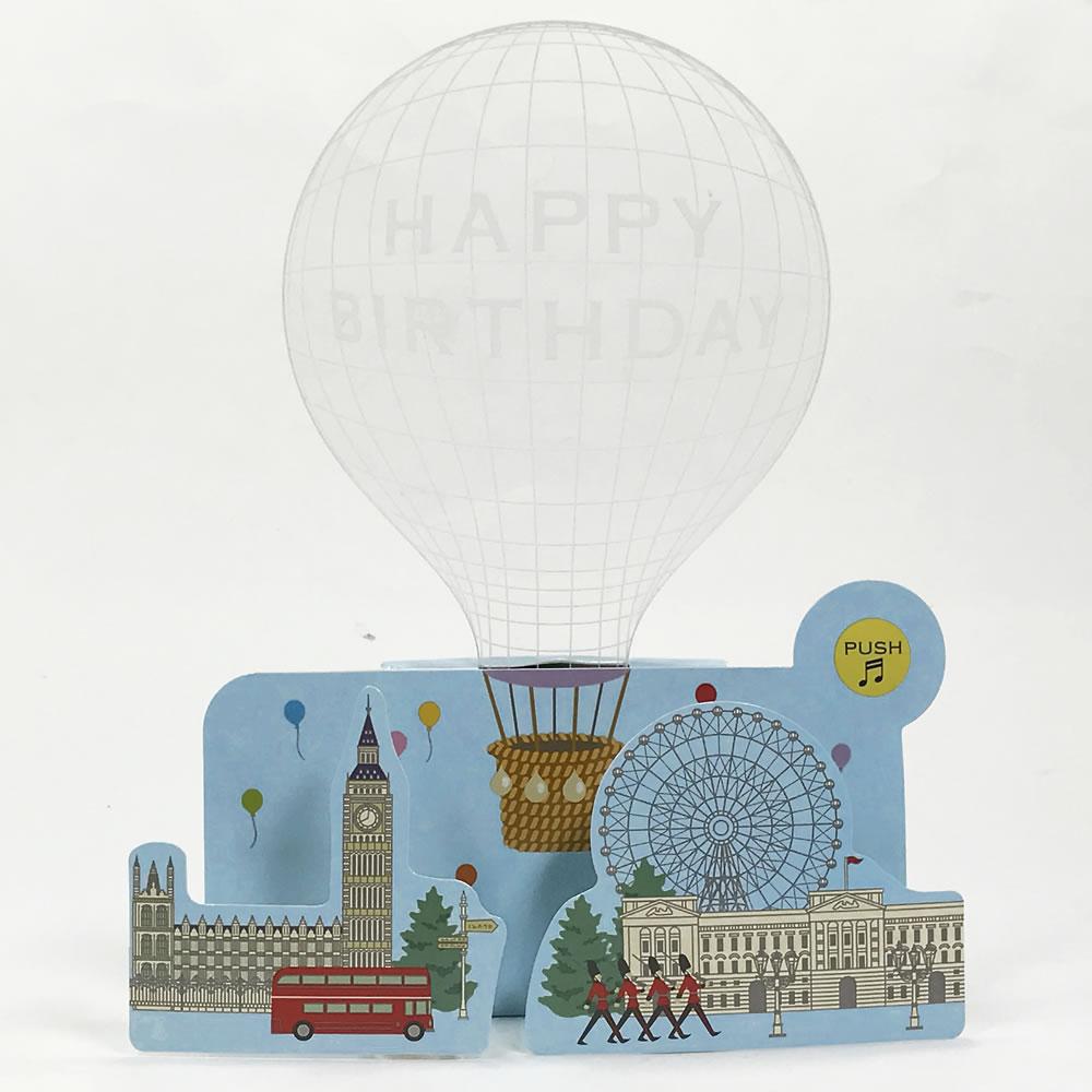 Ashiya Hori Mansho Do Rakuten Global Market Music Card Balloon B