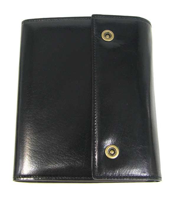 (3/31-4/1割引クーポン対象品) ブリットハウス システム手帳 バッファローカーフ A6サイズ ブラック/黒 bth-1110bk BRIT HOUSE