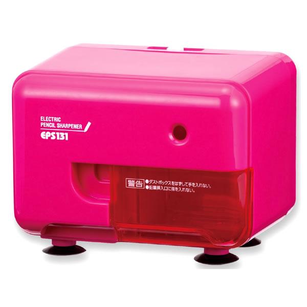 電動シャープナー ピンク EPS131P 電動式 アスカ
