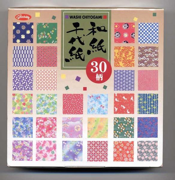海外限定 30柄和紙千代紙 大特価 23-1999