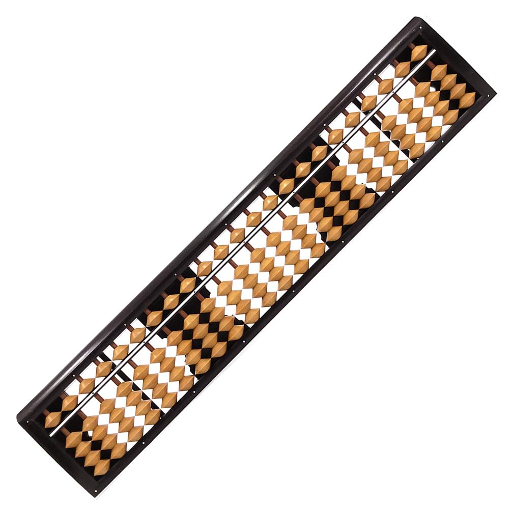 播州そろばん 23桁 ツゲ玉 棒入りクリ板付き 43200 マルエム 算盤 ソロバン 一進社