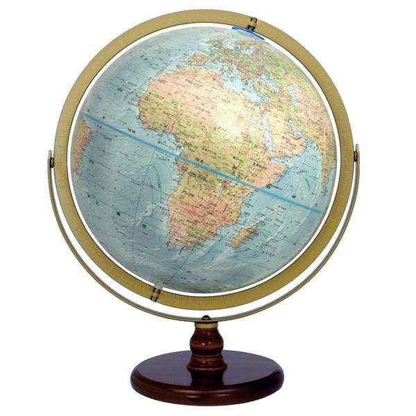 (3/31-4/1割引クーポン対象品) リプルーグル地球儀 オセアニア型 日本語版 33874 球径30cm 地勢型 山岳起伏加工 照明なし ワールド・オーシャン・シリーズ
