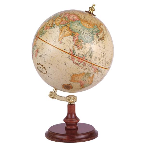 リプルーグル地球儀 リンカーン型 日本語版 51470 球径23cm 行政型 山岳起伏加工 照明なし ワールド・クラシック・シリーズ