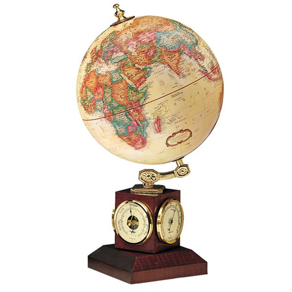 リプルーグル地球儀 ウェザーウォッチ型 日本語版 51473 球径23cm 行政型 山岳起伏加工 照明なし ワールド・クラシック・シリーズ