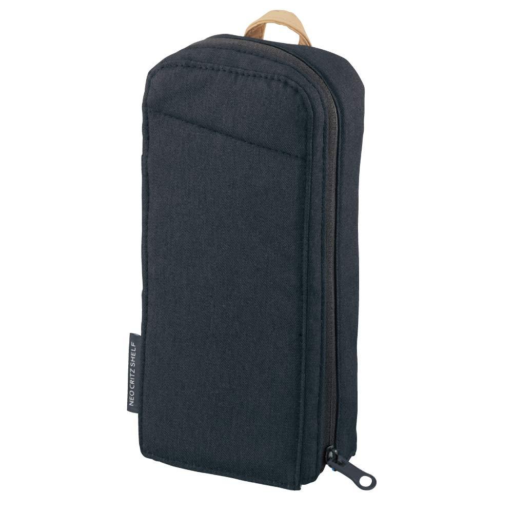 KOKUYO pen case pencil case standish ネオクリッツシェルフネイビー F-VBF210B Kokuyo  64749839