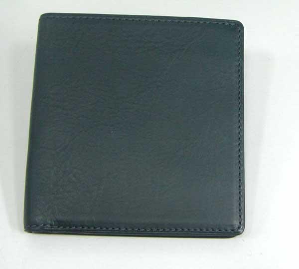 THINLY スィンリー Bシリーズ 薄型2つ折財布 ダークグリーン色 札入れ(小)スムース牛革タイプ SL-B-S02GREEN