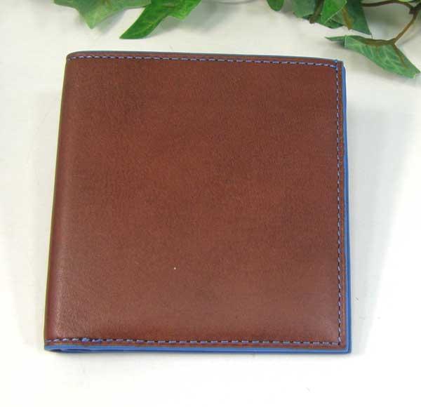 THINLY スィンリー Hシリーズ 薄型2つ折財布 チョコ色 札入れ(小)ヌメ革タイプ SL-H-S02CHOCO